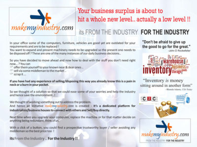 Your Business surplus is about to hit a whole new level.. actually a low level