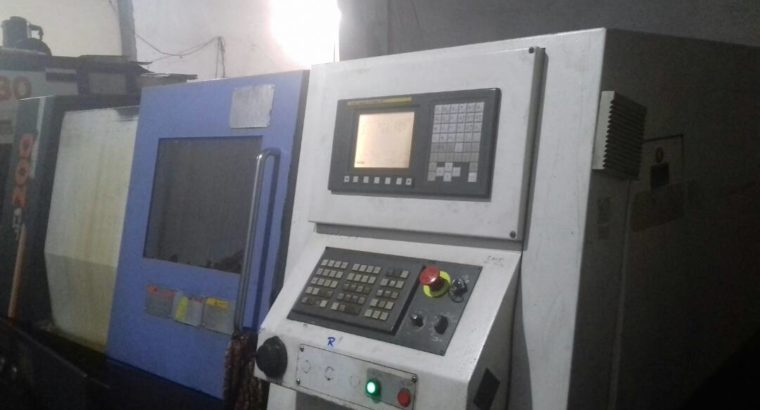 CNC MACHINE JYOTI DX-200 WITH FANUC SYSTEM,2008
