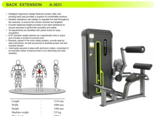 Back Extension A-3031