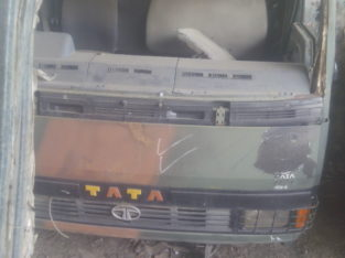 Front body of oldest designed military car of Tata company