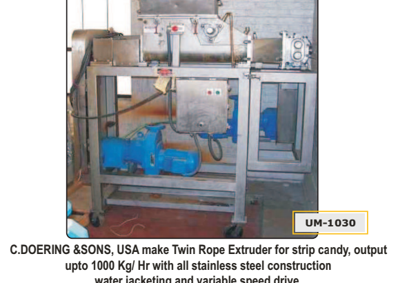 Twin Rope Extruder